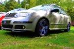 Samochód na trawie