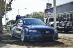 niebieskie Audi