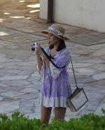 Kobieta z aparatem