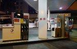 dystrybutor paliwa na stacji benzynowej